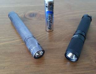 Maglite Solitaire VS Thrunite Ti3 : Retex