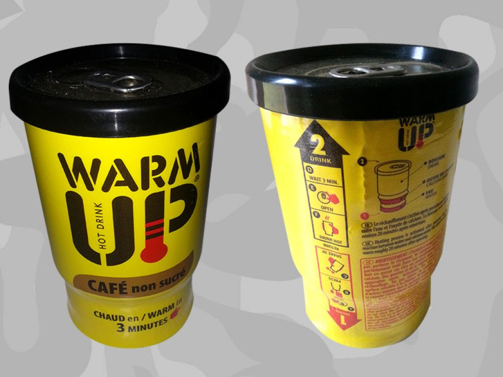 WARM UP hot drink - Le café chaud instantané